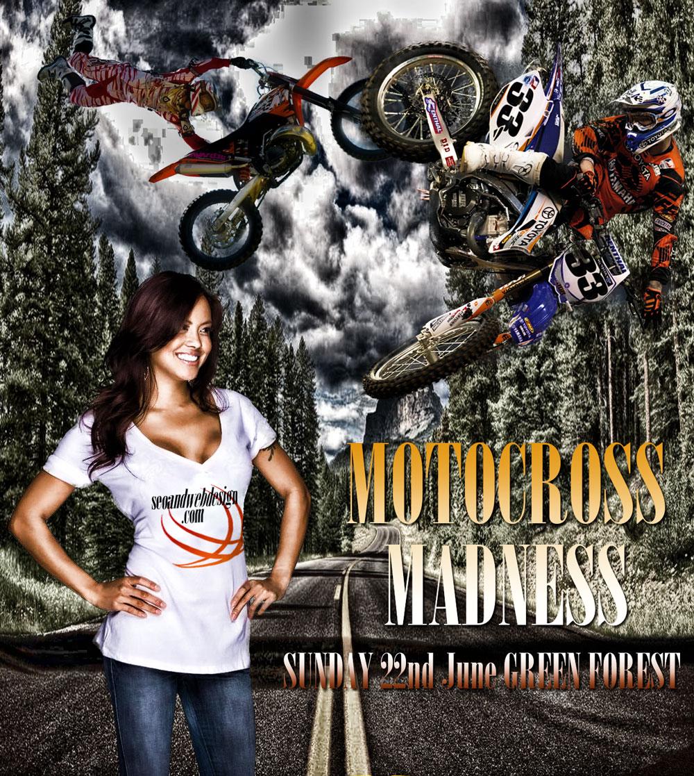 photoshop compositions motocross