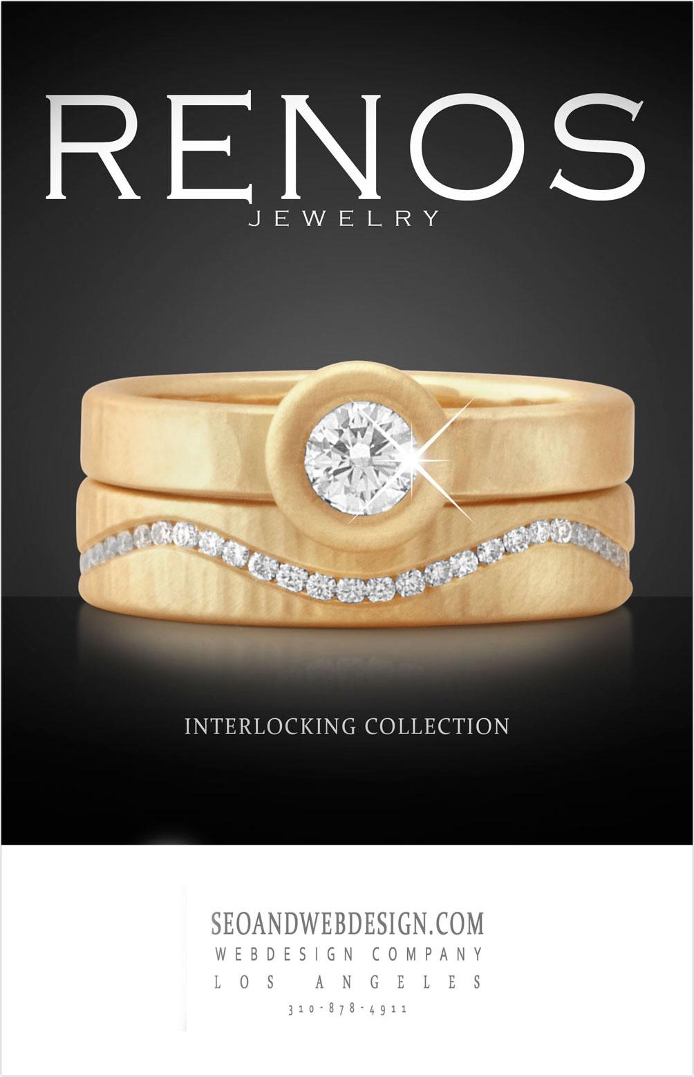 jewelry photoshop poster mockup